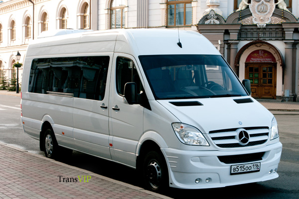 Аренда белого Mercedes-Benz Sprinter 515 Турист